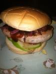 pork and bacon sammie
