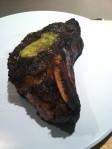 reheated aged steak